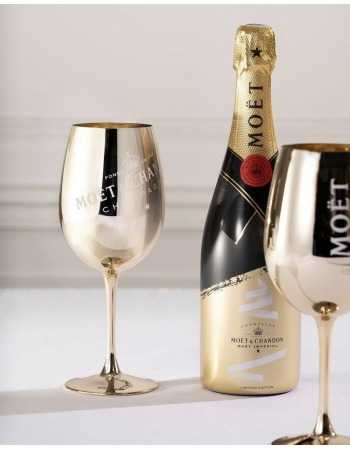 Moët & Chandon Package Limited Edition 2 Ceramics Gold Glasses & 1 Brut Impérial - 75 CL CHF84,90 Moët & Chandon
