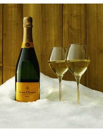 Veuve Clicquot Package 2 Glasses & Giftbox Yellow Card Brut - 75 cl CHF77,90 Home