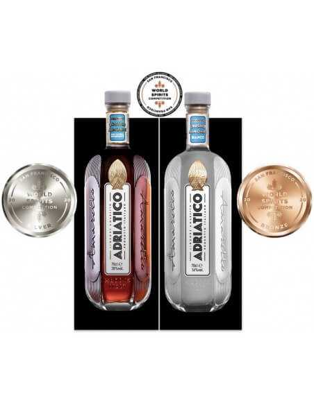 AMARETTO ADRIATICO Giftbox Amaretto Roasted 28% & Bianco 16% - 2 x 70 CL CHF79,00 Luxury Spirits