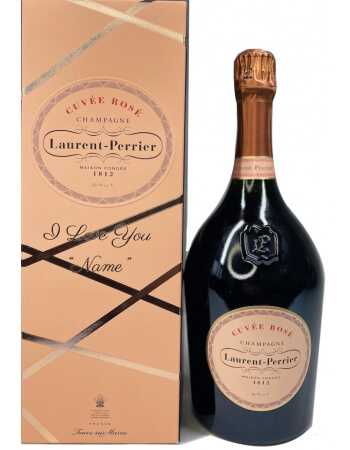 Laurent-Perrier Magnum Giftbox Rosé + Personal Engraving - 150 CL CHF184,00 PERSONALISATION