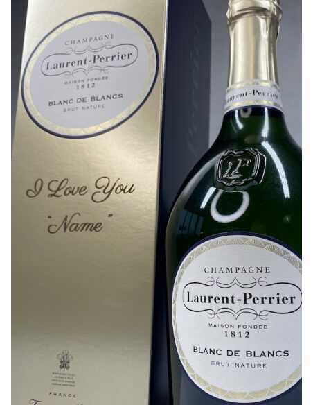 Laurent-Perrier Giftbox Blanc de blancs + Personal Engraving - 75 CL CHF94,00 PERSONALISATION