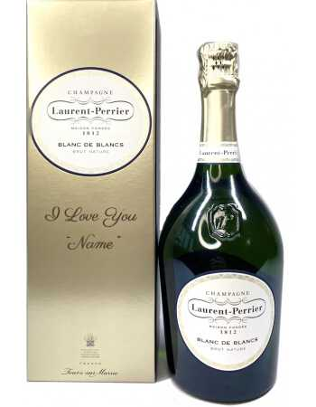 Laurent-Perrier Giftbox Blanc de blancs + Personal Engraving - 75 CL CHF 94,00 PERSONALISATION