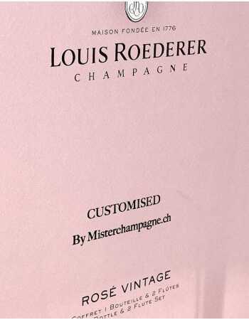 Louis Roederer LOUIS ROEDERER Rosé Vintage 2014 75 CL + 2 Verres & Gravure personnel du GIFTBOX CHF144,00  PERSONNALISATION