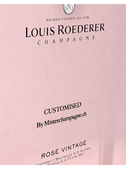 Louis Roederer LOUIS ROEDERER Rosé Vintage 2014 75 CL + 2 Glasses & Personal Engraving GIFTBOX CHF144,00 PERSONALISATION