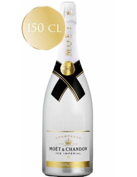 Moët & Chandon Set : 2 verres acryliques blancs + 1 Magnum Ice Impérial Brut - 150 CL CHF169,00 product_reduction_percent Mo...