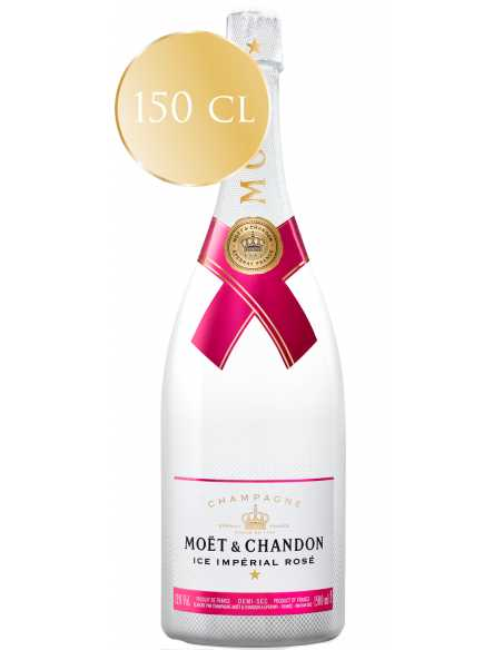 Moët & Chandon Set : 2 verres acryliques blancs + 1 Magnum Ice Impérial Rosé - 150 CL CHF 199,00 product_reduction_percent Mo...