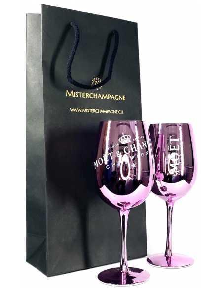 Moët & Chandon 2 Pink Ceramic Glasses & 1 Rosé Impérial Giftbox - 75 CL CHF109,90 Moët & Chandon