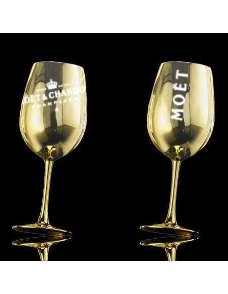 Moët & Chandon Set Light : 2 ceramic glasses Gold + 1 Magnum N.I.R - 1 x 150 CL CHF219,00 Promotions