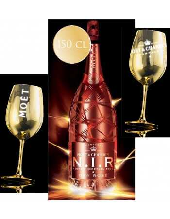 "Moët & Chandon Package ""Light"" 2 Gold Glasses + 1 Magnum N.I.R - 1 x 150 CL CHF 219,00 product_reduction_percent Moët & Chandon"