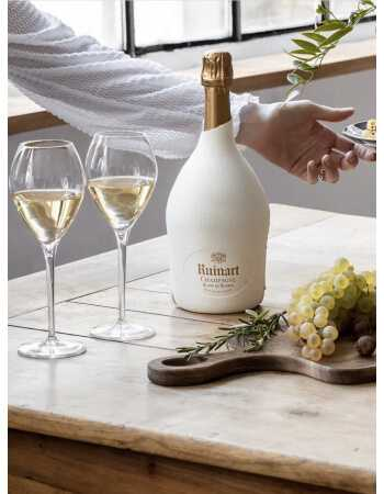 "Ruinart Set : 2 verres + 1 Blanc de blancs ""Second Skin"" - 75 CL CHF 119,00 product_reduction_percent Ruinart"