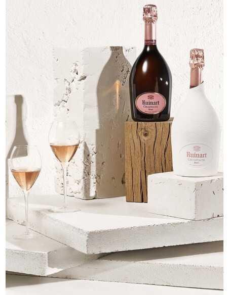Ruinart Set : 2 verres + 1 Second Skin Rosé - 75 CL CHF119,00 product_reduction_percent Ruinart