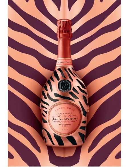 """Laurent-Perrier Set : 2 verres Prestige + 1 Cuvée Rosé """"Jungle"""" Limited Edition - 75 CL CHF119,00 product_reduction_percent ..."""