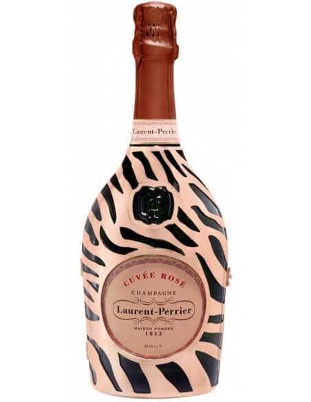"Laurent-Perrier Set : 2 Prestige glasses + 1 Cuvée Rosé ""Jungle"" Limited Edition - 75 CL CHF119,00 Laurent-Perrier"