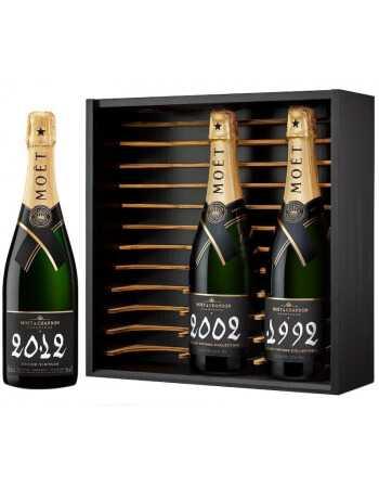 Moët & Chandon 3 bouteilles Grand Vintage 1992, 2002 & 2012 CHF399,00  Moët & Chandon