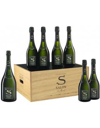 SALON Coffret Œnothèque 2008 CHF8500,00  Autres champagnes