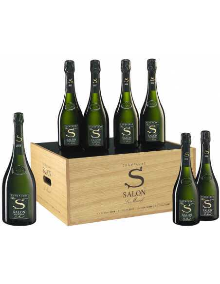 SALON Coffret Œnothèque 2008 8,500.00 Others champagne