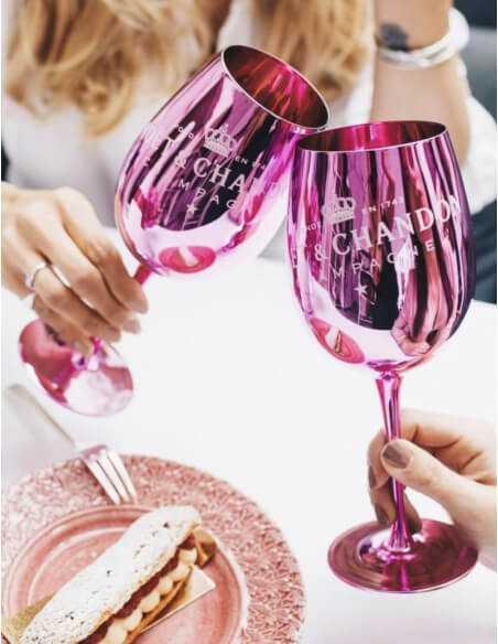 Moët & Chandon 2 Verres Céramique Pink CHF40,00  Accueil