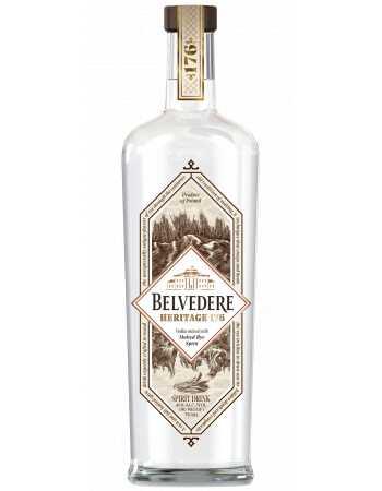 Vodka Belvedere Heritage 176 - 40% - 70 CL CHF59,00  Vodka Belvedere