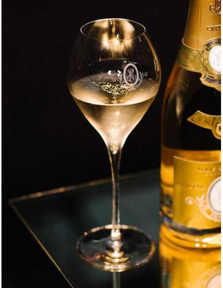 Cristal Louis Roederer 2 Verres à Champagne 41 Cl CHF40,00  Cristal Louis Roederer
