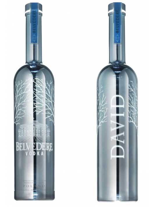 "Vodka Belvedere MAGNUM SILVER ""LED"" BESPOKE & Personal Engraving GIFTBOX - 40% - 175 CL CHF189,00 Vodka Belvedere"