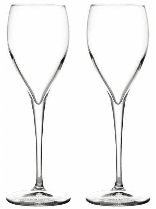 Laurent-Perrier 2 Prestige Glasses with gauge CHF30,00 Laurent-Perrier