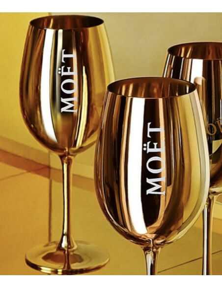 Moët & Chandon Set : 2 Gold ceramic glasses + 1 Imperial Brut - 75 CL CHF83,00 Promotions