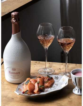 Ruinart Set : 2 verres + 1 Second Skin Rosé - 75 CL CHF 119,00 product_reduction_percent Ruinart