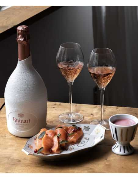 Ruinart 6 Verres à Champagne 28.5 cl CHF100,00  Accueil