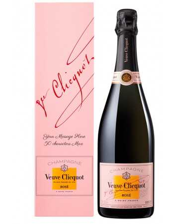 Veuve Clicquot Giftbox Rosé + Personal Engraving - 75 CL CHF76,90 PERSONALISATION