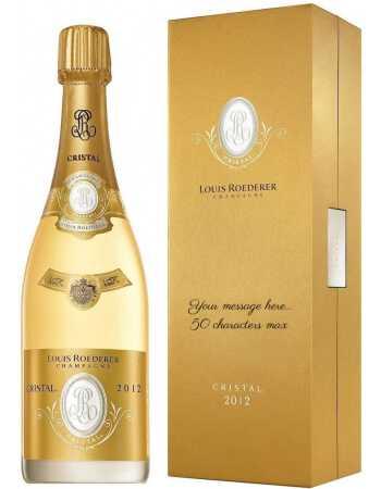 Cristal Louis Roederer Persönliche Gravur Ihrer GiftBox & Vintage 2012 - 75 CL CHF230,00  PERSONALISIERUNG