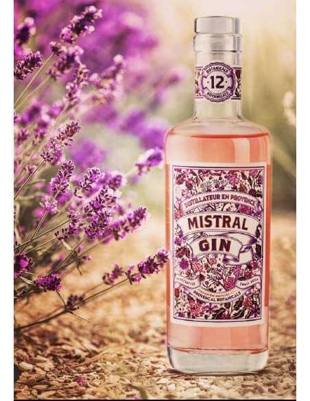 Mistral Gin Dry Gin Rosé - 40% - 70 CL CHF49,00  Luxury Spirits