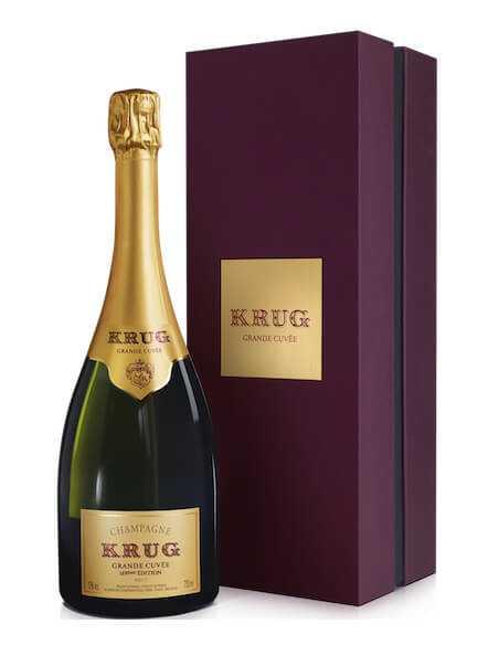 Krug 169e grande cuvée brut CHF199,00  Krug