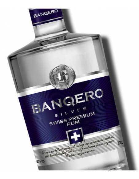 SWISS RUM BANQERO Blanco Silver - 40% - 70 CL CHF49,00  Luxury Spirits