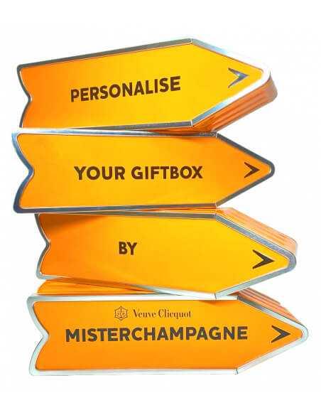 "Veuve Clicquot Personalised ""ARROW"" Giftbox Yellow Label Brut - 75 cl CHF80,00 Veuve Clicquot"