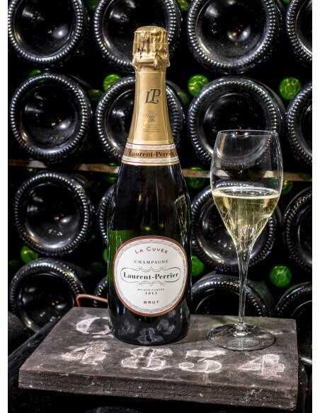 Laurent-Perrier La Cuvée & 2 Glasses, Limited Edition Giftbox - 75 cl CHF50,00 Laurent-Perrier