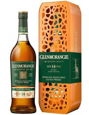 Whisky Glenmorangie LIMITED EDITION GIRAFE GIFTBOX Quinta Ruban 14 years - 46% - 70 CL CHF69,00  Whisky Glenmorangie