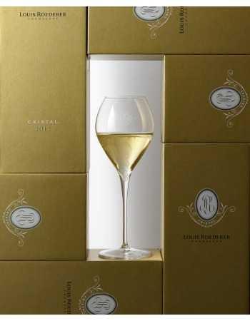 Cristal Louis Roederer Set 6 glasses + 3 giftbox Vintage 2002, 2012, 2013 - 3 x 75 CL CHF883,00 Cristal Louis Roederer