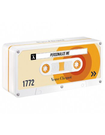 """Veuve Clicquot Yellow Retro Chic Tape SUN Limited Edition """"Personalize Me"""" - 75 CL CHF70,00  Startseite"""