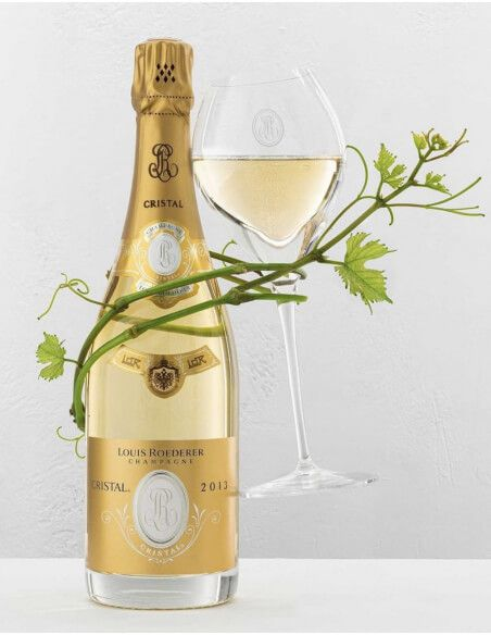 Cristal Louis Roederer Set 6 verres + 3 coffret Vintage 2002, 2012, 2013 - 3 x 75 CL CHF883,00 product_reduction_percent Cri...