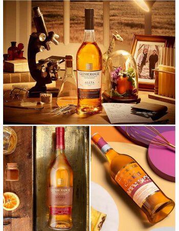 Whisky Glenmorangie Trilogy Private Edition SPIOS/ALLTA/CAKE & 2 Tumbler - 3 x 70 CL CHF287,00 Whisky Glenmorangie