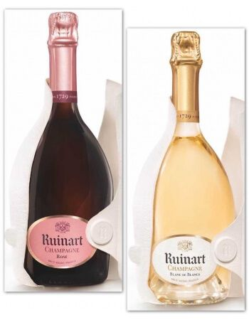 Ruinart 3 Blanc de Blancs + 3 Rosé second skin - 6 x 75 cl CHF474,00 product_reduction_percent Promotions