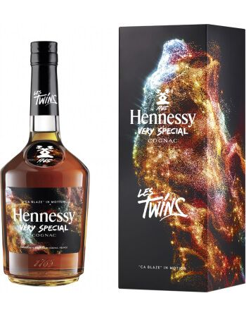 """Cognac Hennessy VERY SPECIAL """"CA BLAZE"""" LES TWINS LIMITED EDITION - 40% - 70 CL CHF46,90  Cognac Hennessy"""
