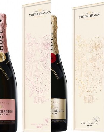 Moët & Chandon Duo Brut & Rosé Impérial Isotherm Metal Giftbox - 2 x 75 CL CHF115,80 Promotions