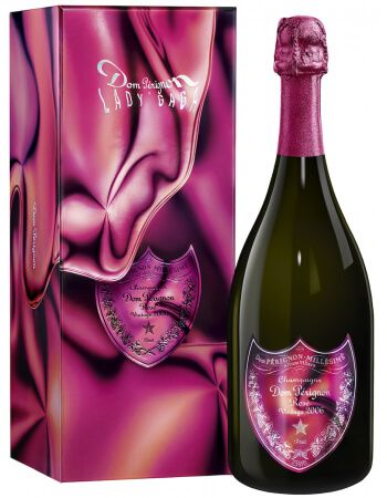 Dom Pérignon Limited Edition Lady Gaga Vintage 2006 Rosé CHF439,00 Dom Pérignon