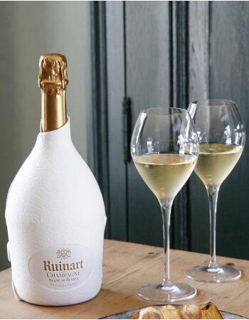 Ruinart Set 2 neutral glasses 41 cl & Blanc de Blancs second skin - 75 cl CHF99,00 Promotions