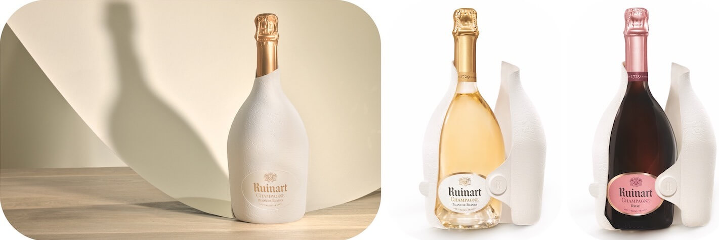 New Eco Packaging by Ruinart